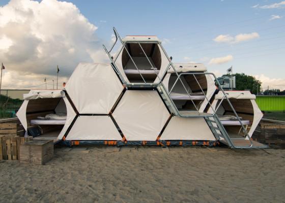Structures pour camping ou concerts