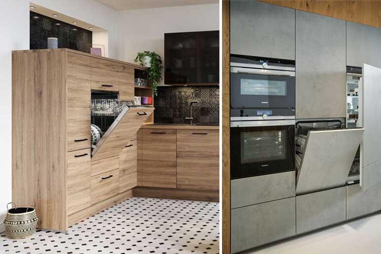Appareils ménagers dans la conception de la cuisine