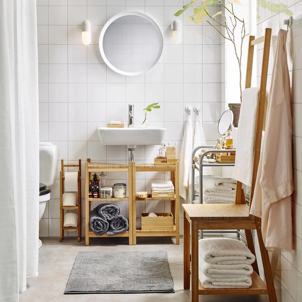 Armoires de salle de bain