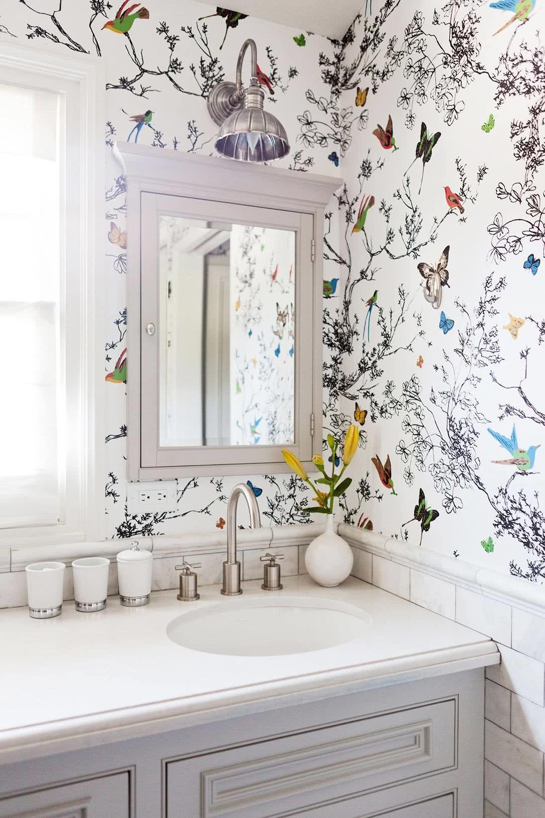 Décoration murale de salle de bain