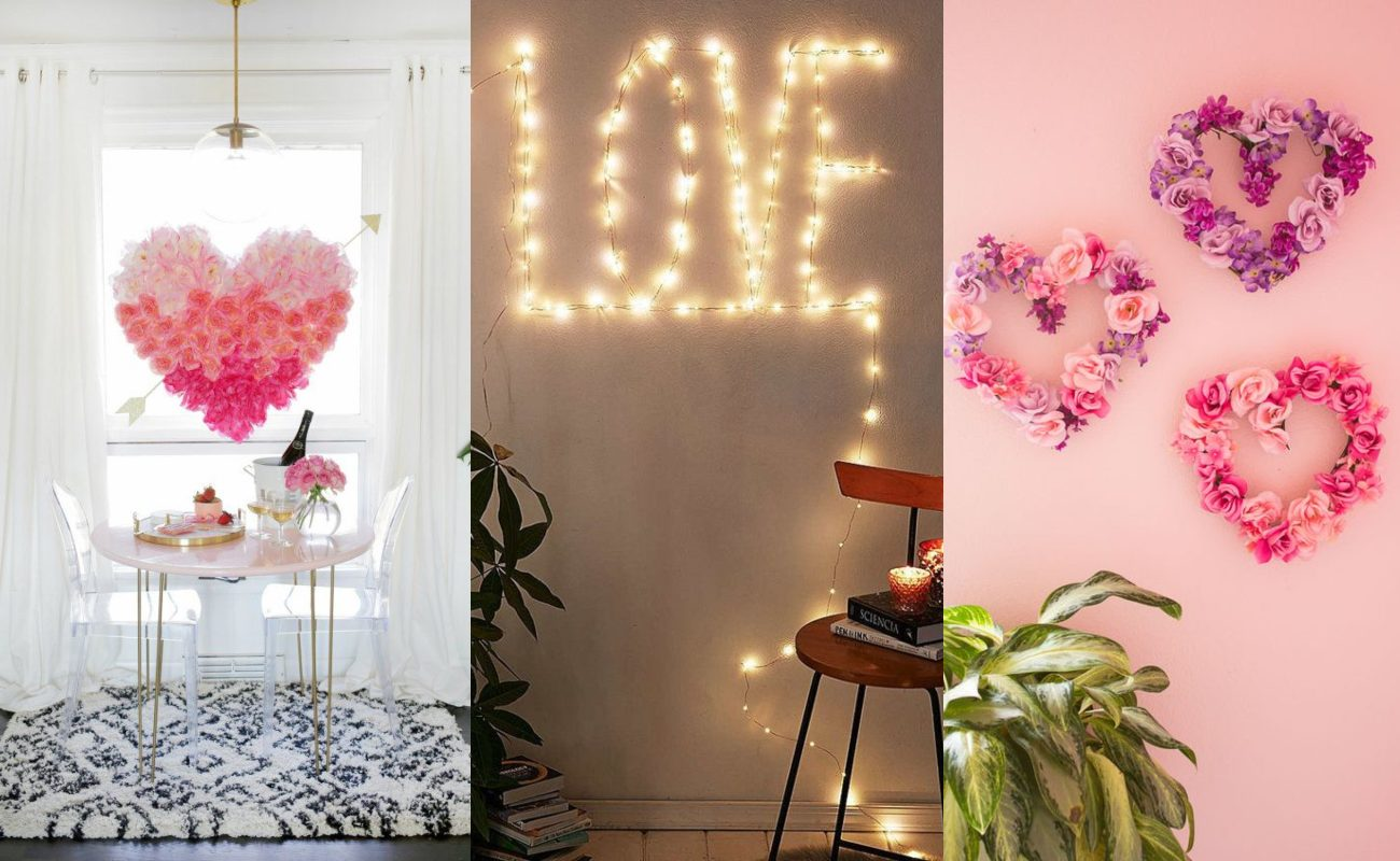 Décoration romantique pour la Saint Valentin