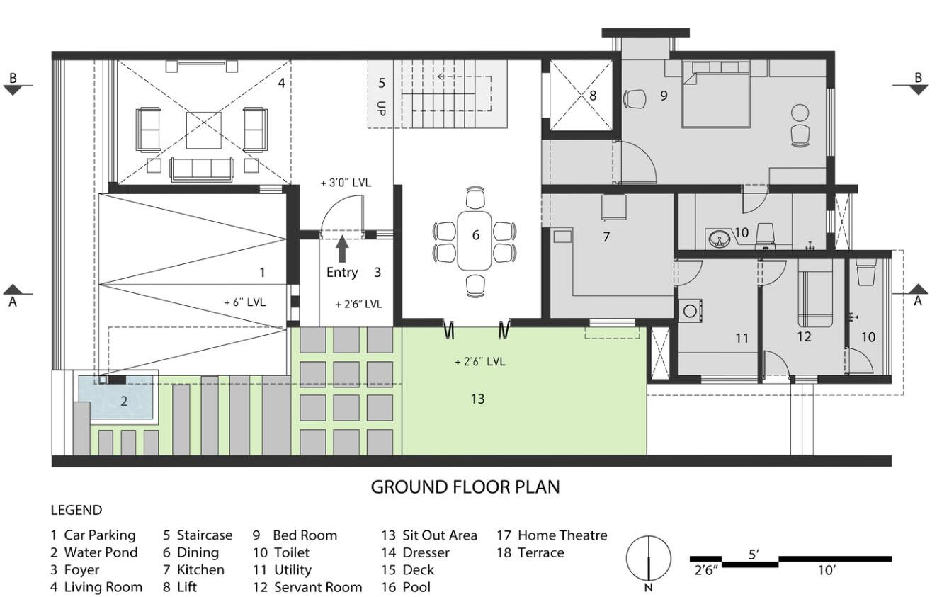Plans de maison à deux étages que je nivelle