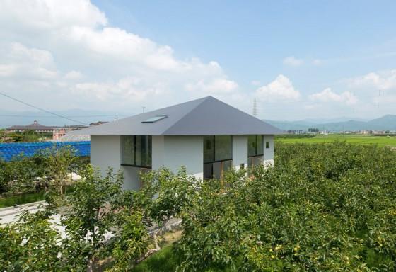 Conception de maison de style japonais
