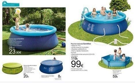 Catalogue Carrefour Summer Pool 2012. L'été le plus frais
