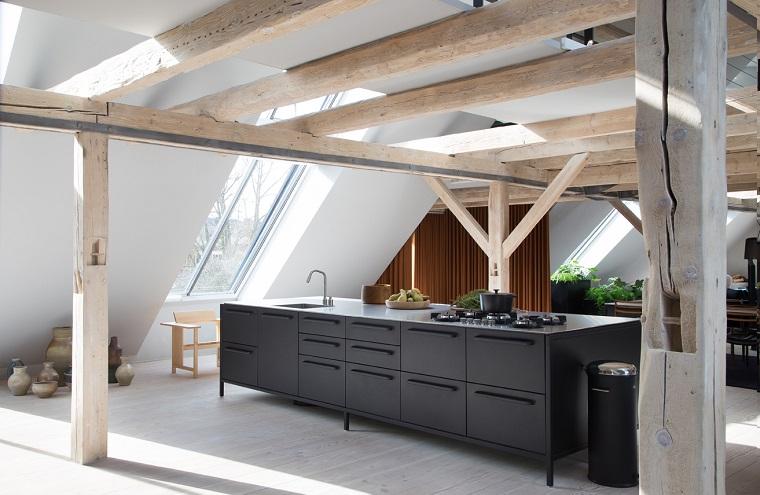 tendances 2018 décoration d'intérieur-cuisine-noir