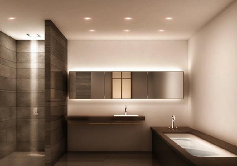 murs de salle de bain décorés