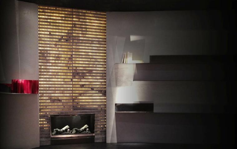 minimalisme des murs décorés