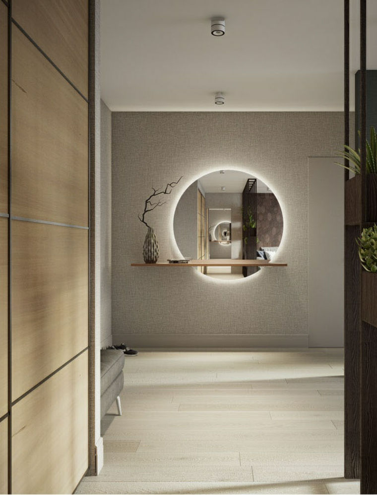 plantes d'intérieur design contemporain