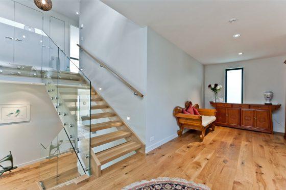 Conception d'escalier moderne