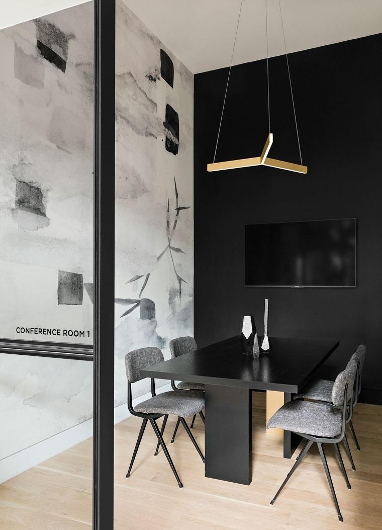 espace de coworking-design-noir-blanc-salle-de-reunion