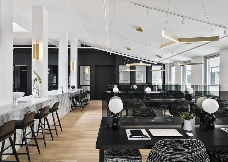 zone de coworking-design-blanc-noir-options