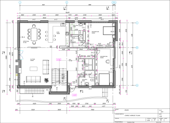 Plans de maisons de campagne carrées