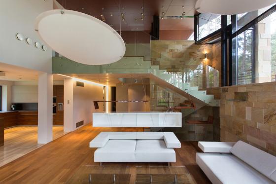 Décoration intérieure de maison de campagne moderne