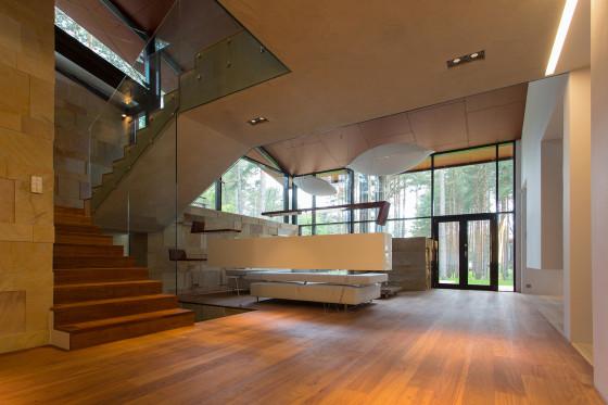 Design d'intérieur de maison moderne