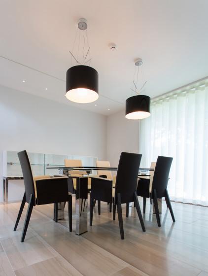 Conception de salle à manger moderne