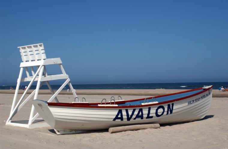 Plage d'Avalon