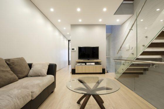 Conception de petite chambre moderne