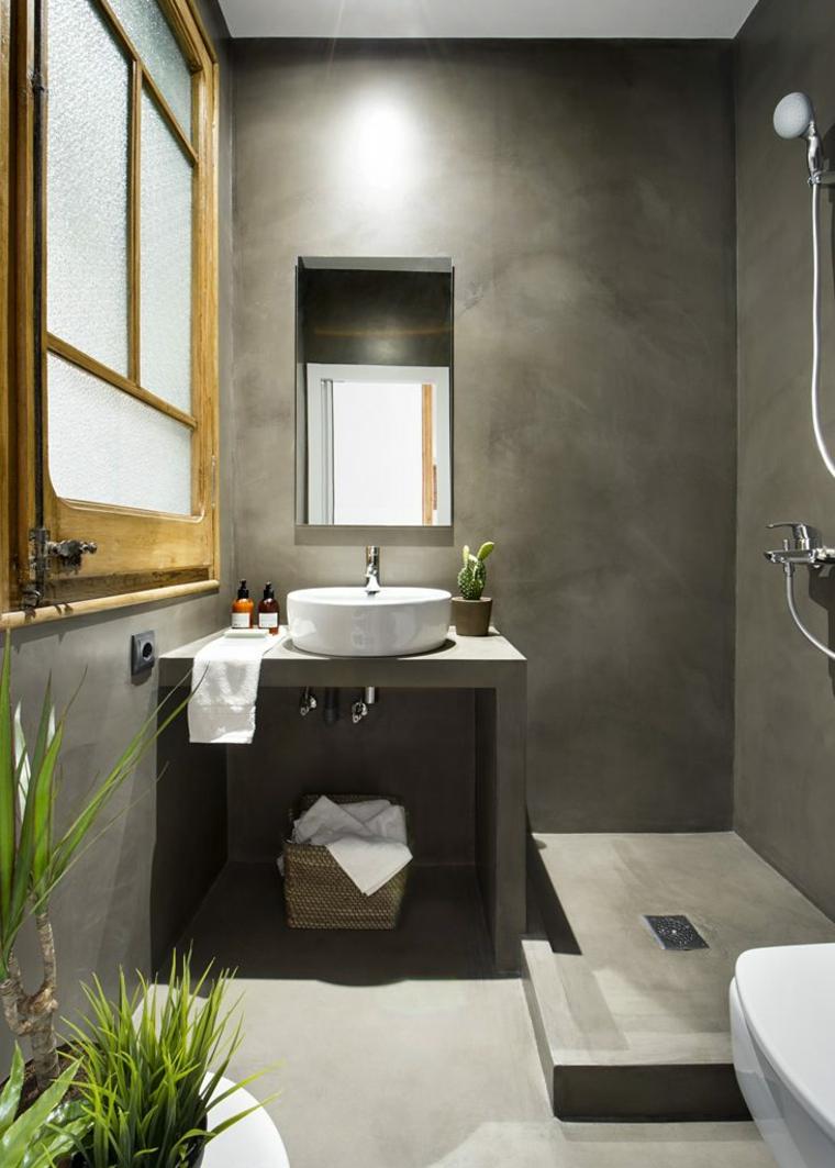 bain de microciment