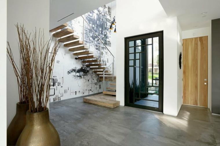 couloirs modernes effets spéciaux-maisons
