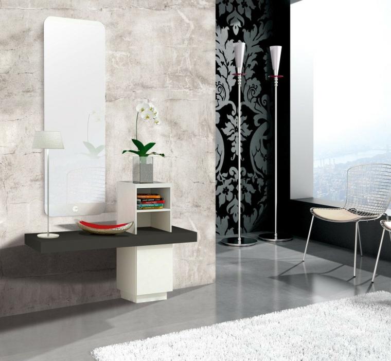 couloirs modernes de luxe-papier peint-murs