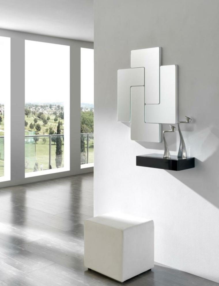 cristaux-miroirs-formes-simples-élégantes