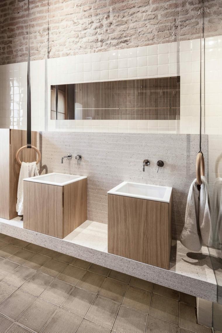 nouveau-style-ancien-appartement-salle de bains-luminaires-modernes