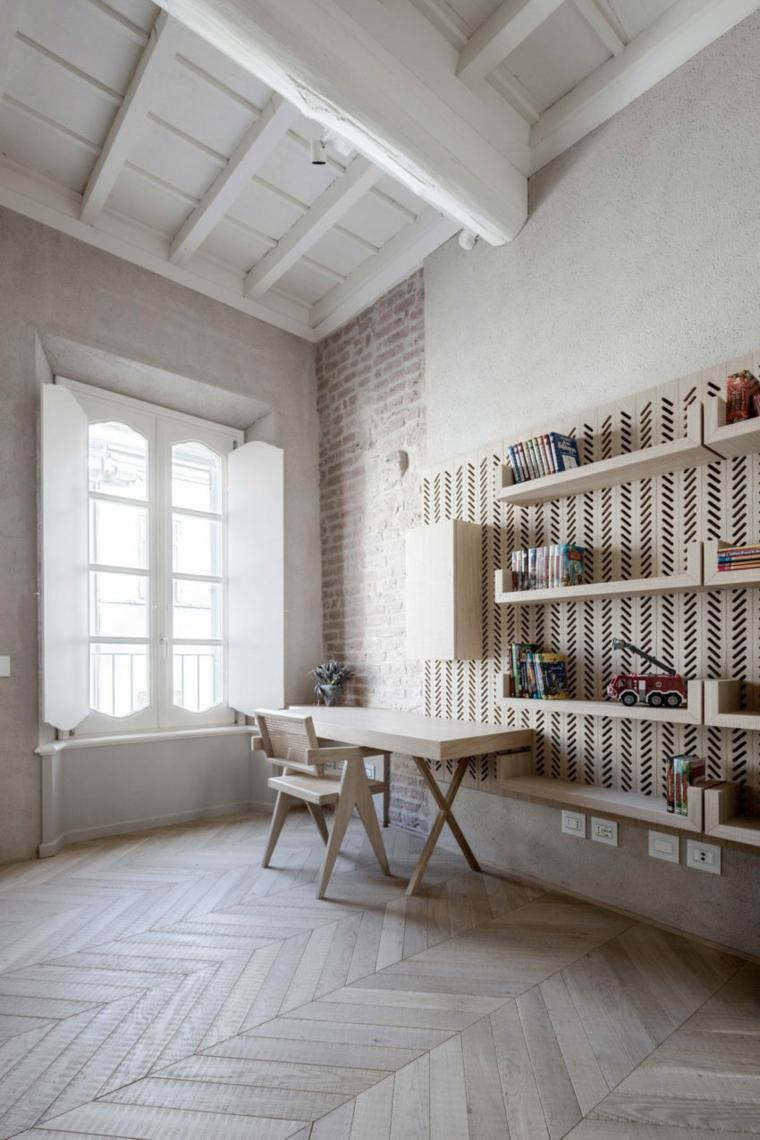 nouveau-style-ancien-appartement-bureau-bois