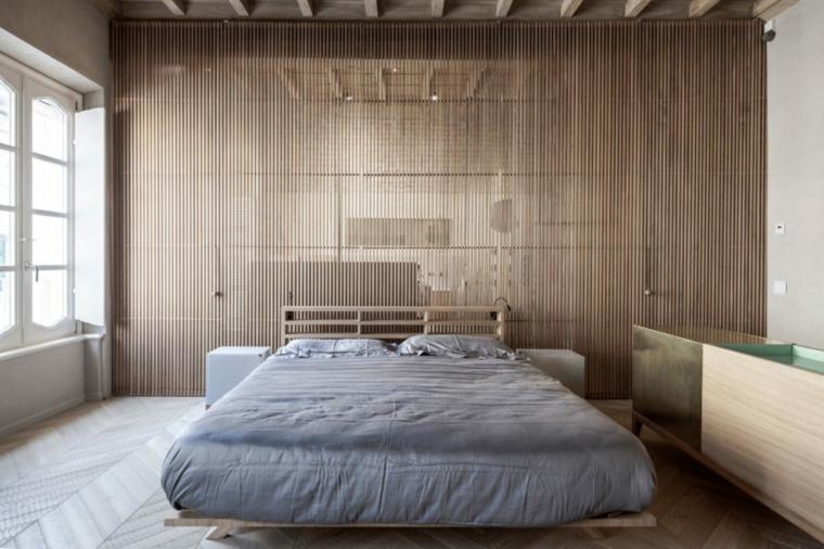 nouveau-style-ancien-appartement-mur-en-bois