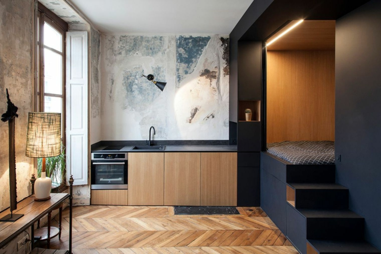 conception de petit appartement moderne