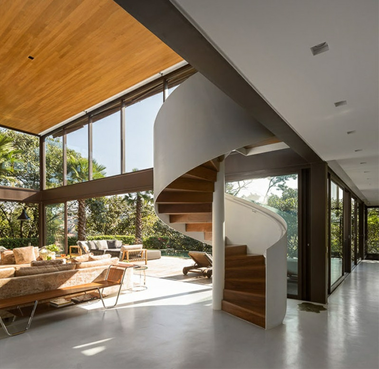 escaliers en colimaçon styles de ponts spéciaux naturels