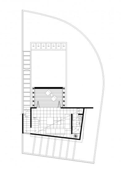 Plan de séjour avec terrasse 2