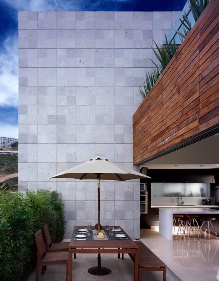 Conception de terrasse ouverte