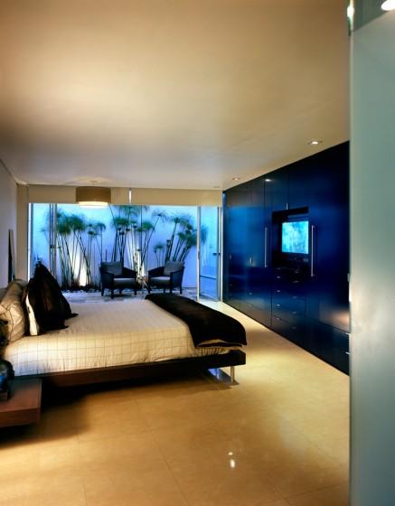 Conception de chambre à coucher moderne