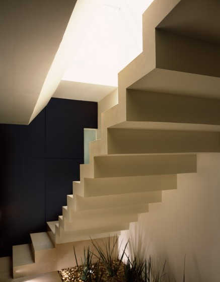 Conception d'escaliers en béton