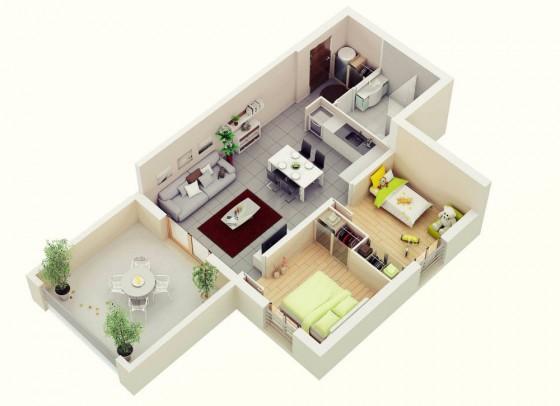 Idées de maisons dans de petites parcelles