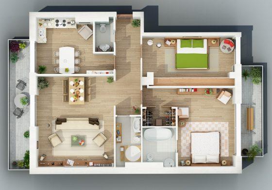 Petit appartement 2