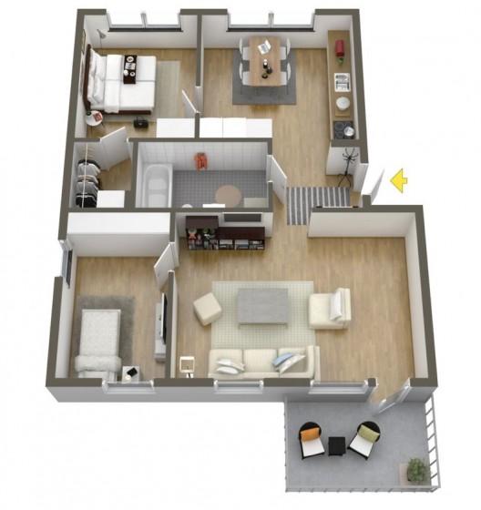 Idées pour construire un appartement