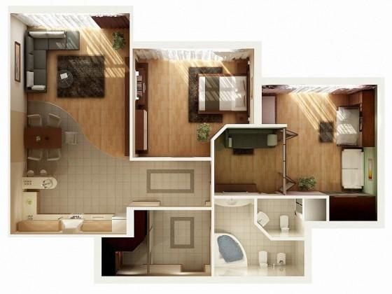 idées pour concevoir un appartement dans un petit espace