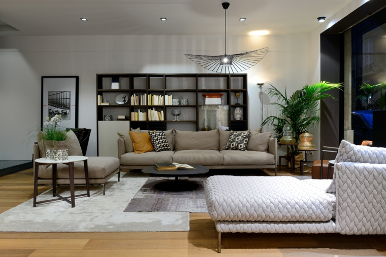décoration de salon options de design moderne idées Claude Cartier