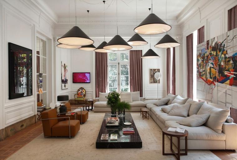 Gisele Taranto Architecture idées de conception décoration de salon spacieux