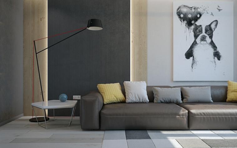 Décoration de salon design contemporain Idées Pavel Alekseev