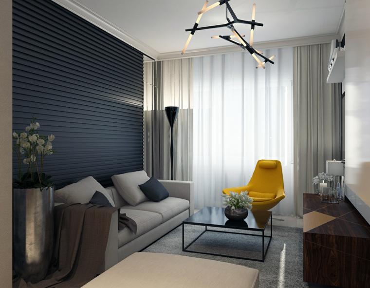 Katya Baryshnikova idées de décoration de petit appartement de salon