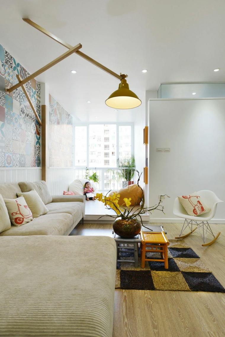Appartement salon design idées LANDMAK ARCHITECTE