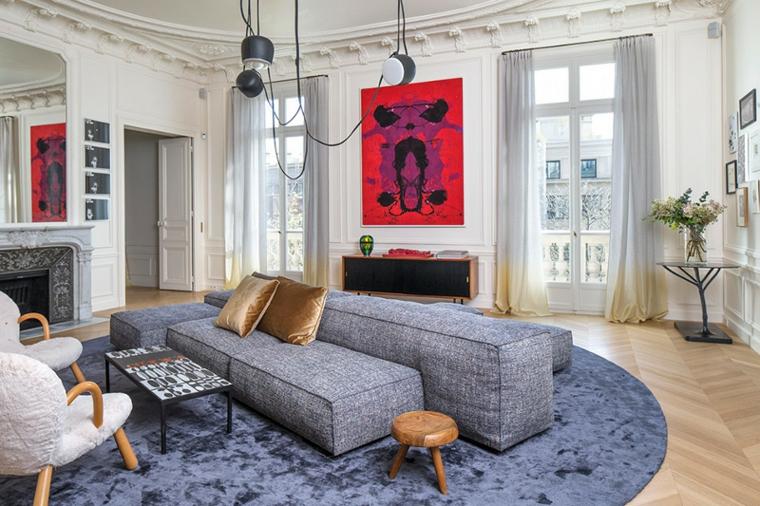 décoration salon design moderne idées Rodolphe Parente