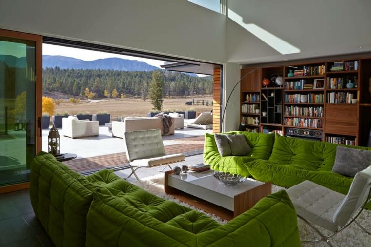 deco salon design Turkel Design Idées Lindal Cedar Homes