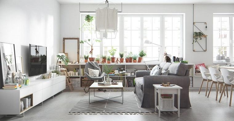 Options de salon design scandinave Idées de décoration de meubles
