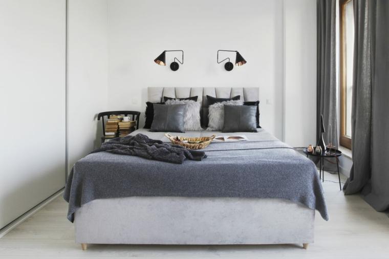 Chambre appartement design nordique Idées Agnieszka Karas