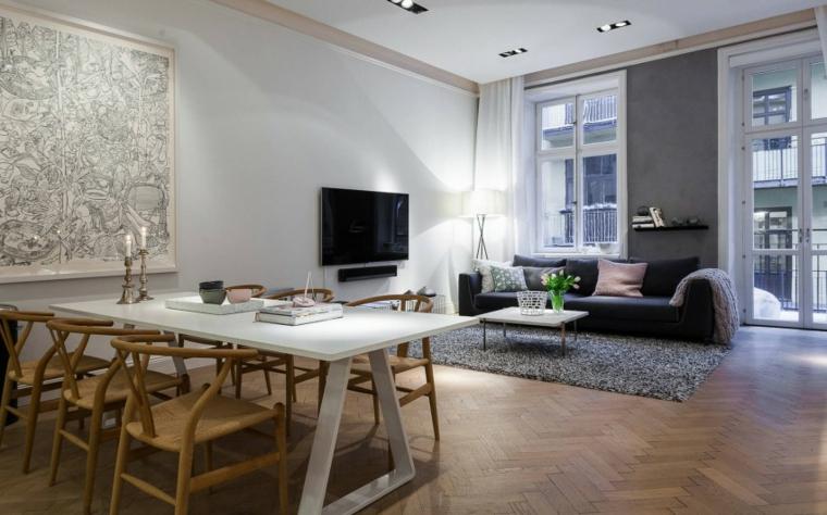 idées de style scandinave appartement moderne