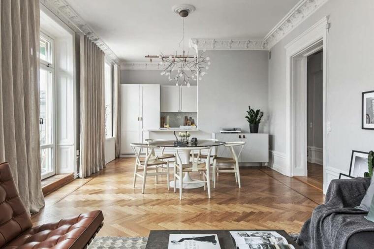 Decoration Nordique Appartement Cuisine Stockholm Idées De Maisons Scandinaves