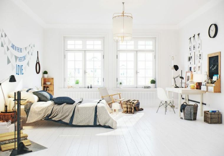 Décoration nordique chambre appartement design Idées Image Box Studios